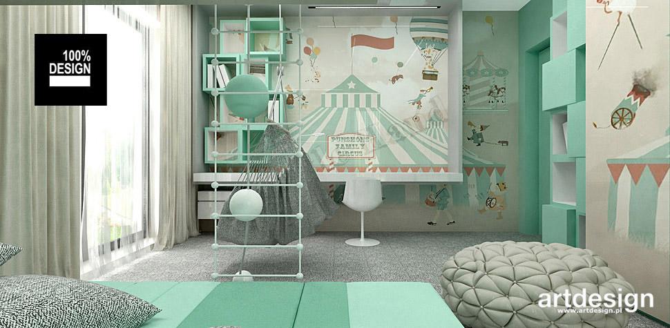 projektowanie wnętrz pokoje dzieci