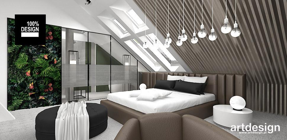 wyszukane projekty sypialni
