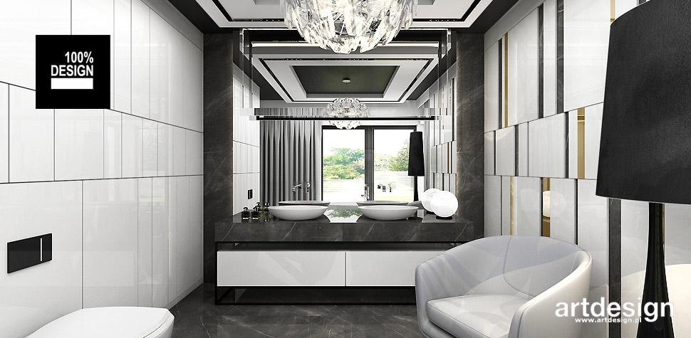 projekty łazienek wnętrze