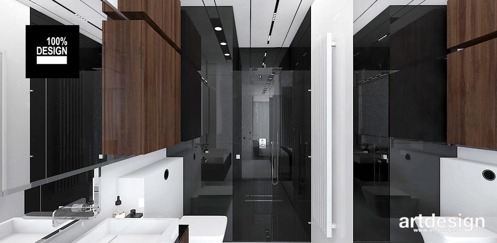 nowoczesna łazienka projektowanie wnętrz