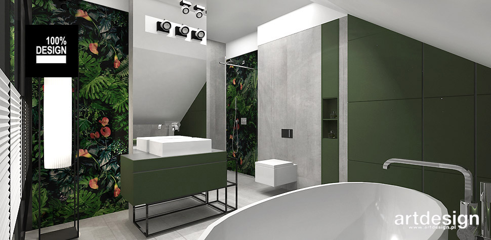 oryginalny projekt łazienki