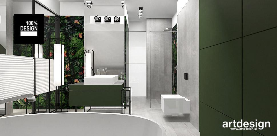 architekt wnętrz projekt łazienki