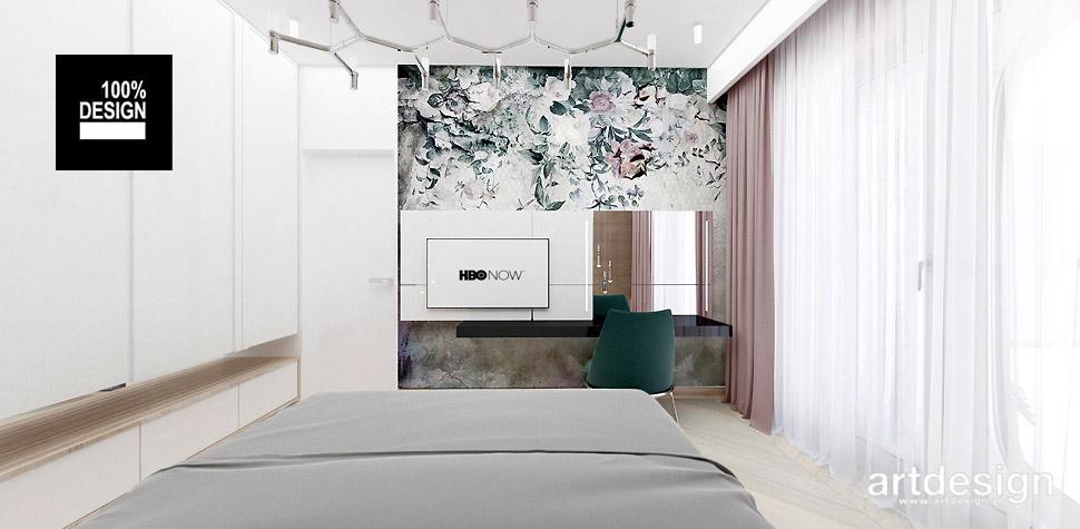przytulna sypialnia projektowanie wnętrz