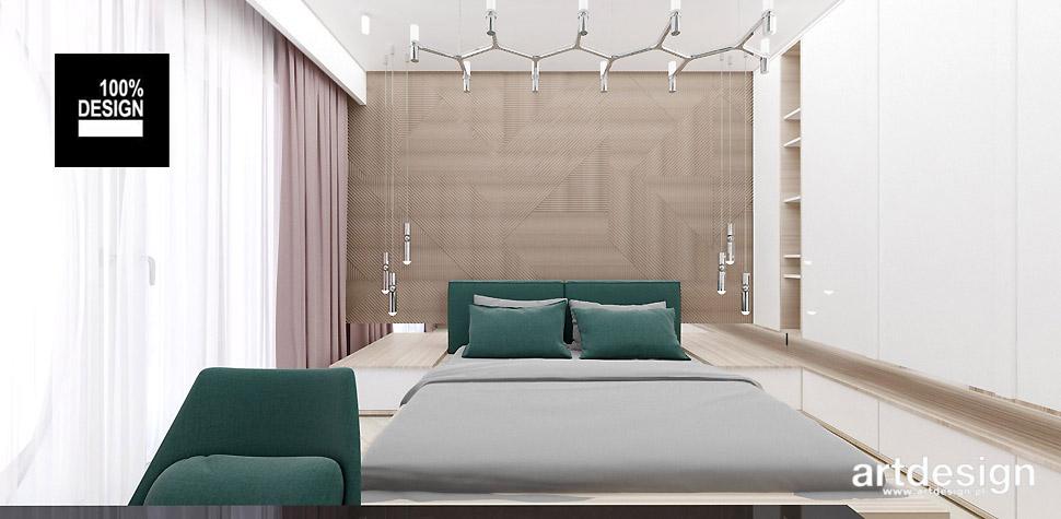 aranżacje wnętrza sypialni