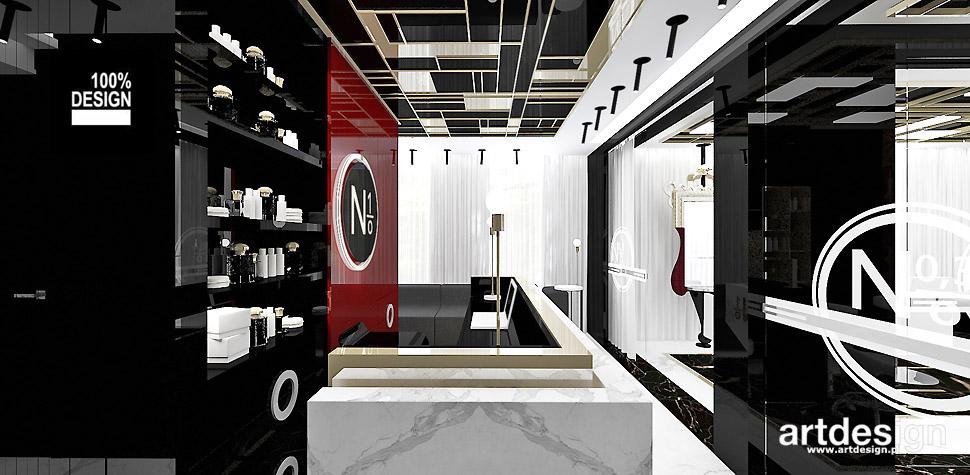 No1 studio urody projektowanie wn trz artdesign for 15 115 salon kosmetyczny