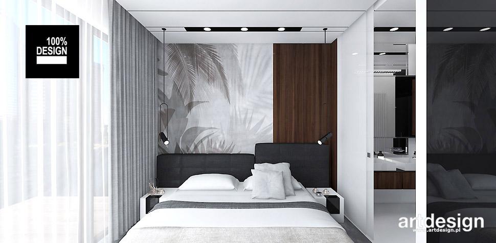 aranżacja wnętrza sypialni