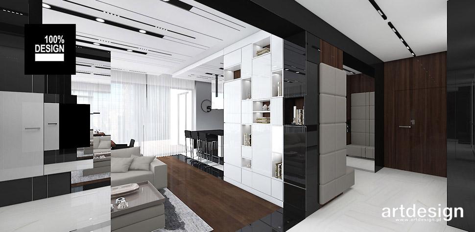 projekt mieszkania architekt wnętrz