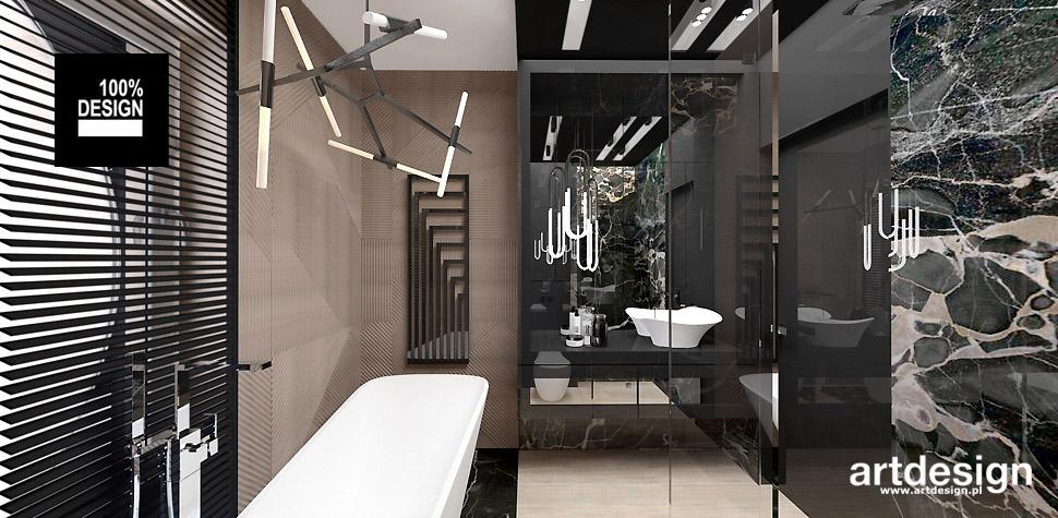 łazienki wnętrza design
