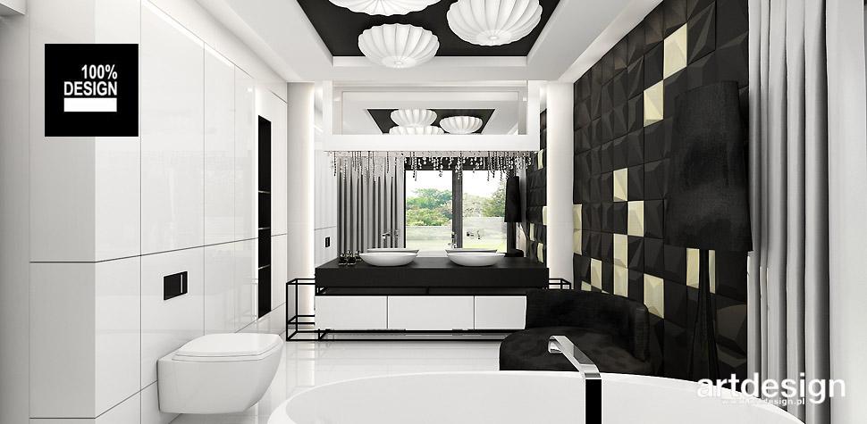 nowoczesna łazienka projekty wnętrz