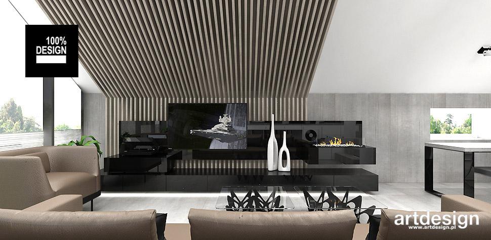 nowoczesny design salon