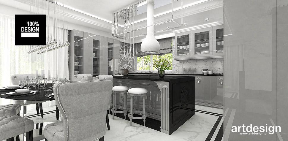 kuchnie wnętrza klasyczne projekty