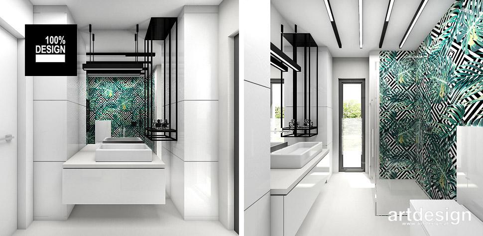 projekty wnętrz łazienek aranżacje