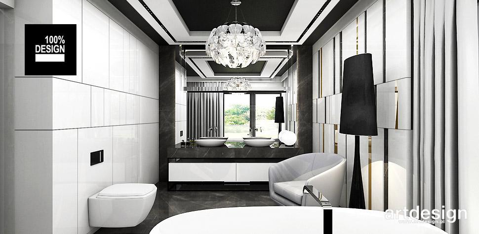 luksusowe aranżacje wnętrz projekty
