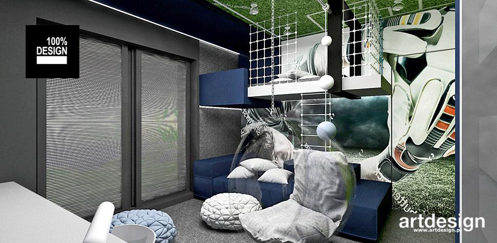 projekt pokoju dla chłopca