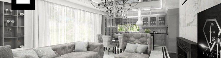 aranżacje domów styl klasyczny