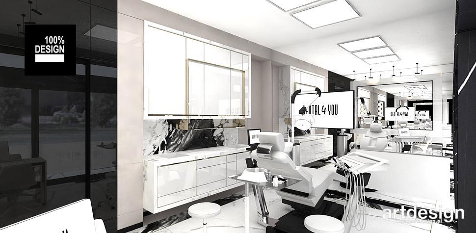 projektant wnętrz kliniki stomatologicznej