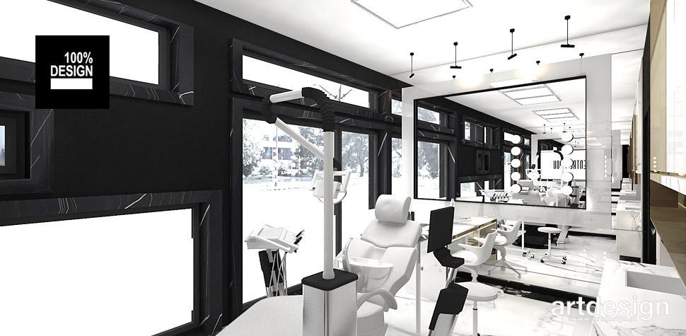 gabinet dentystyczny projekt wnętrza