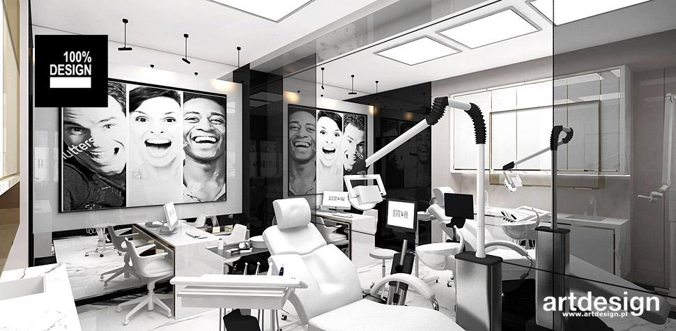 stomatologia wnętrza realizacje