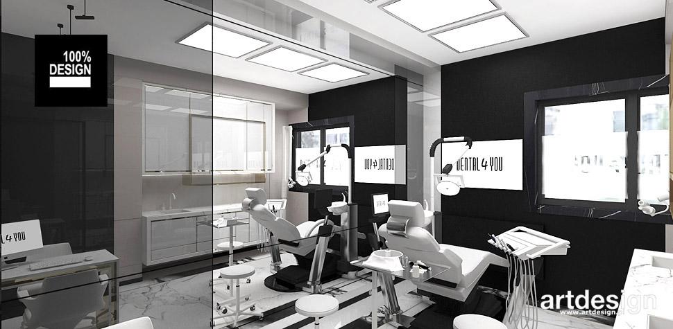 projekty wnętrz gabinetów stomatologicznych kraków