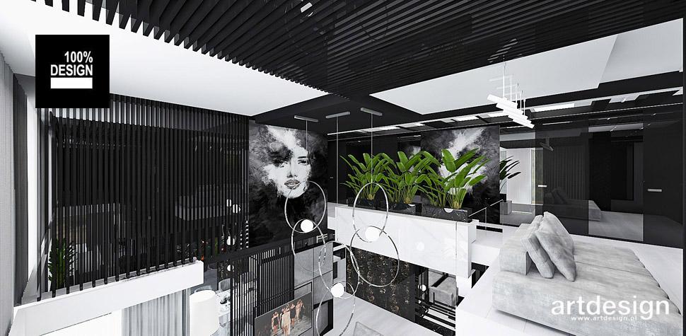 aranżacja domu w stylu nowoczesnym