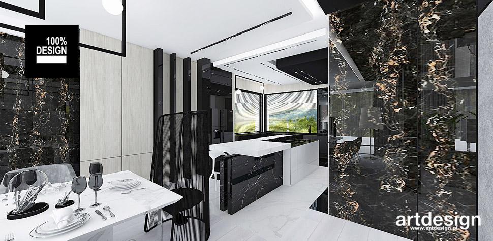 projektowanie nowoczesnych domów wnętrza