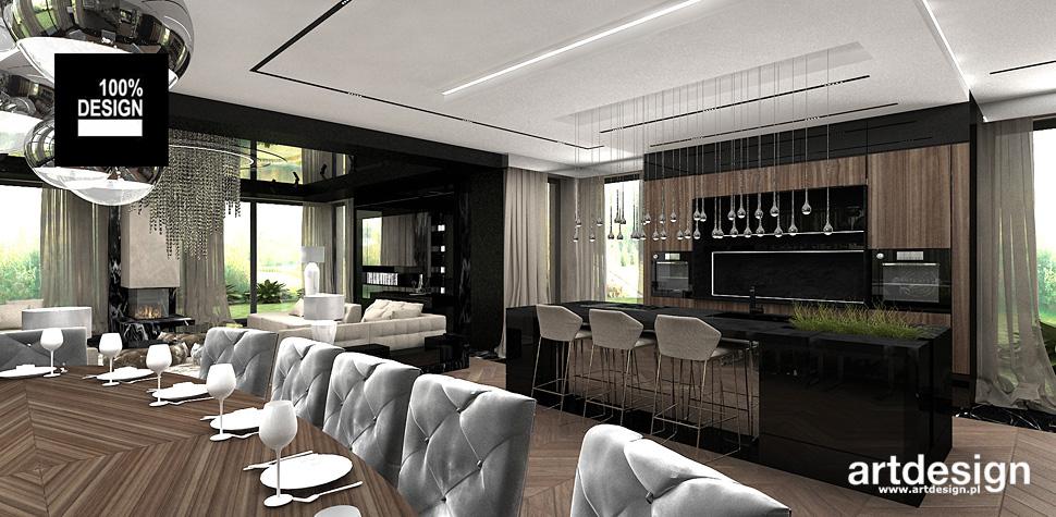 wnętrza luksusowych domów aranżacja