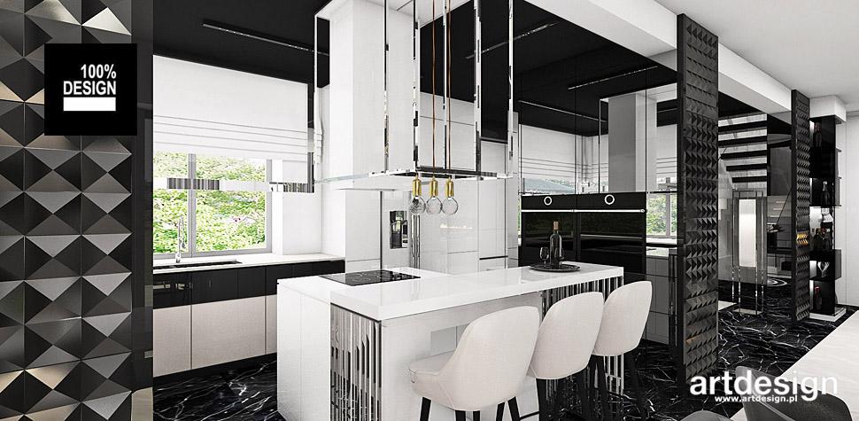projekty kuchni wnętrza design