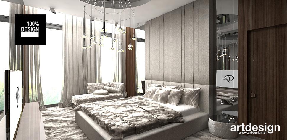luksusowa sypialnia aranżacja