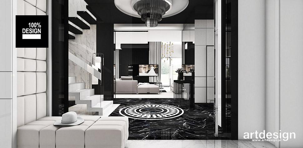 projektowanie wnętrz nowoczesnych domów