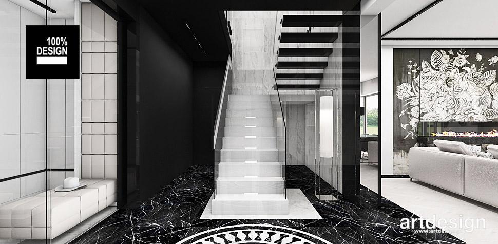 nowoczesne białe schody projekty