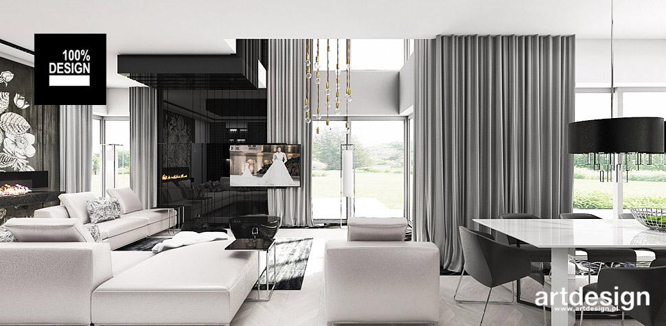 aranżacje wnętrz domów interior design