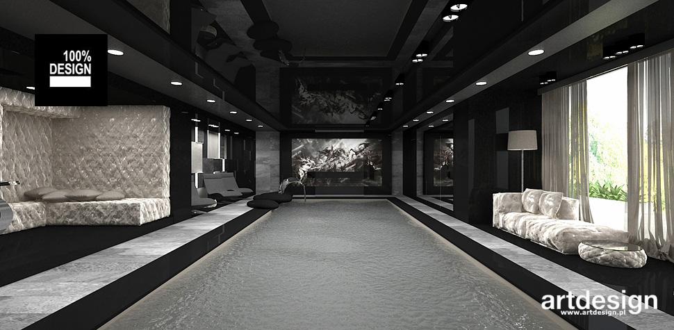 domowy basen projekt wnętrza