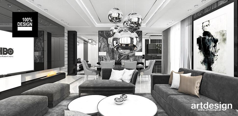 apartament mieszkanie wnętrza projekty