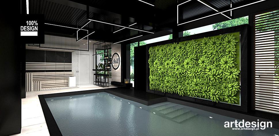 projektowanie wnętrz basenów