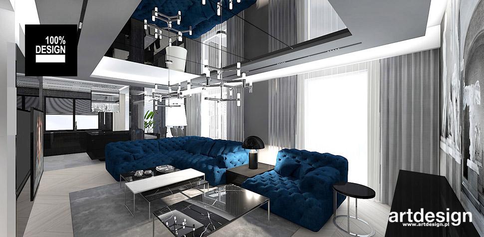 salon wnętrza design