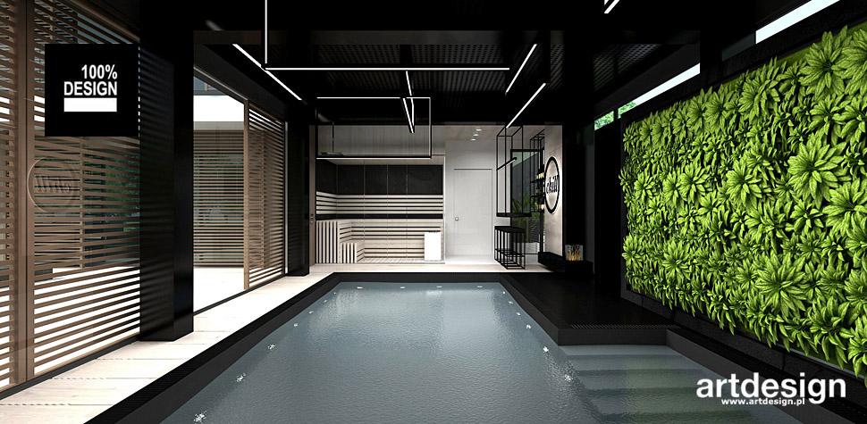 domowe spa sauna aranzacje wnetrz