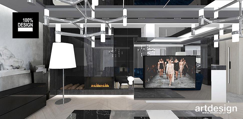 projektowanie wnętrz domów rezydencji