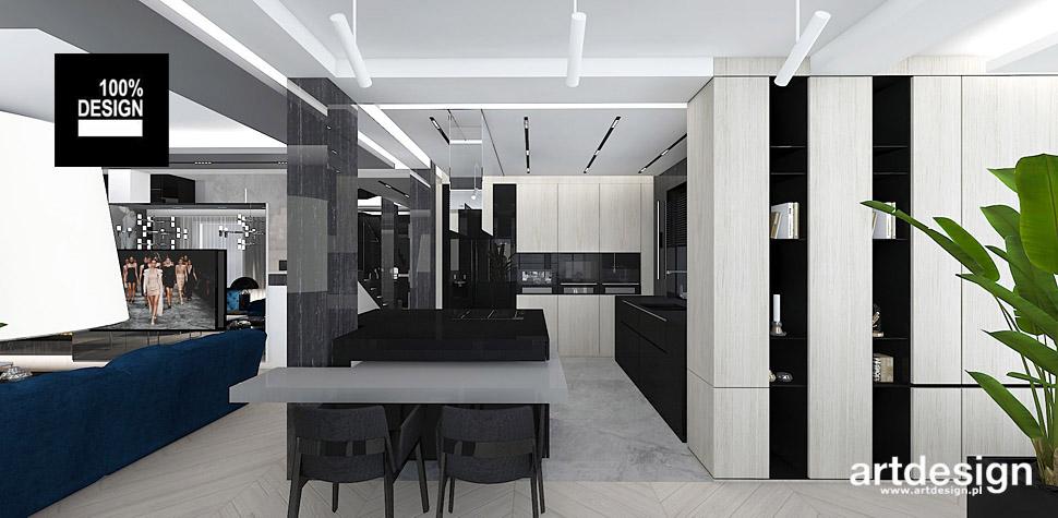 projektowanie wnętrza nowoczesnej kuchni