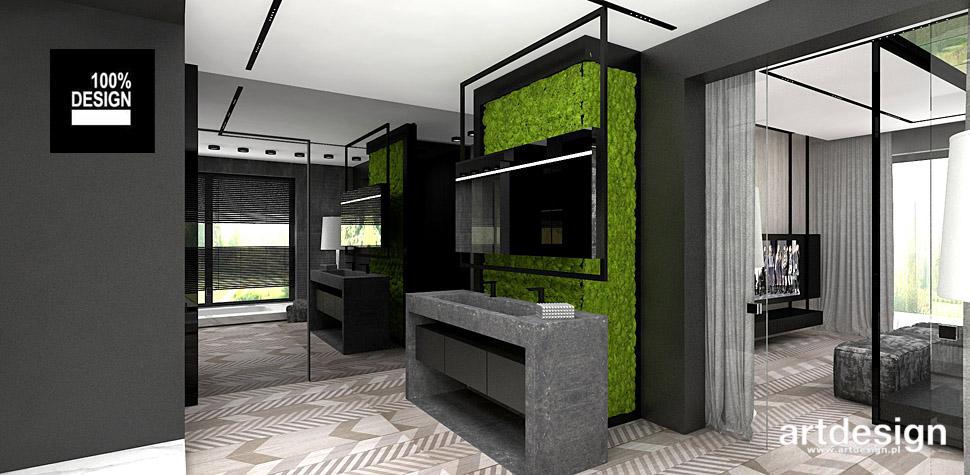 projekty wnętrz łazienka nowoczesna