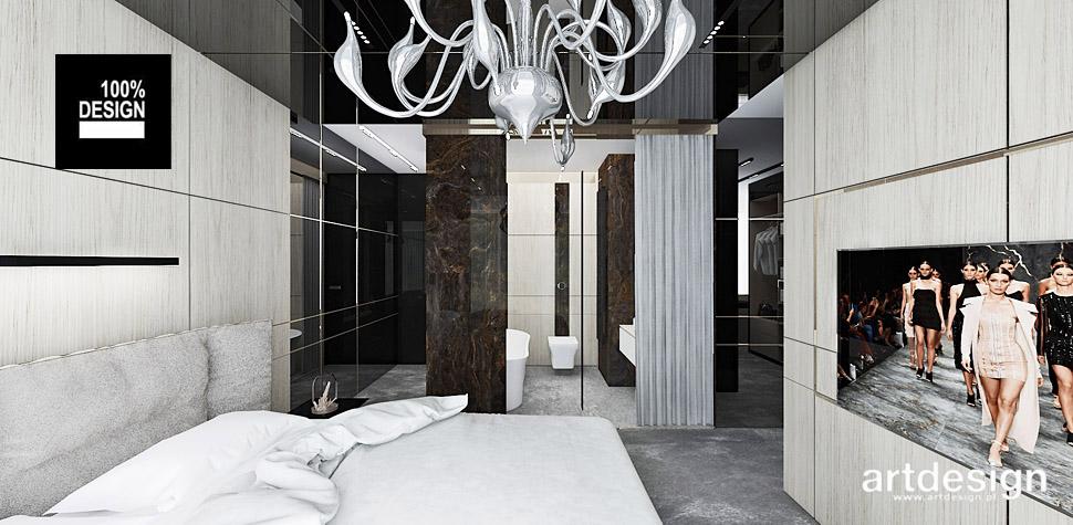 projekty wnętrz sypialni design