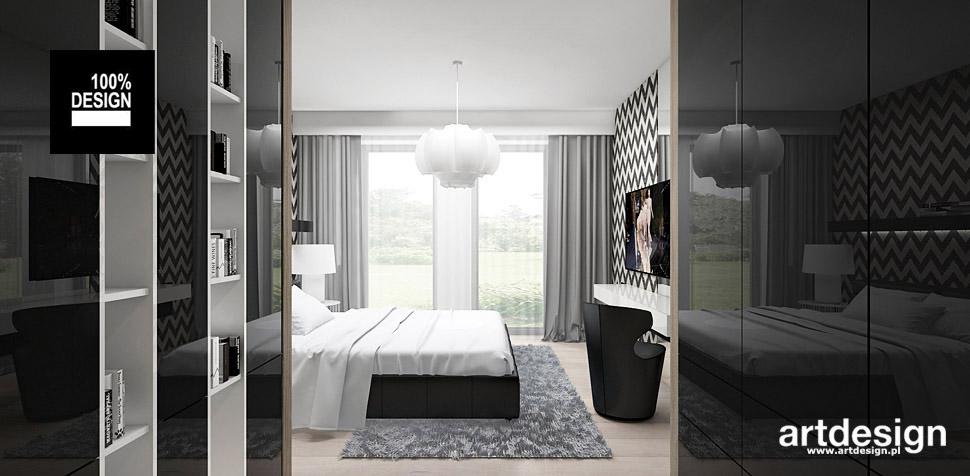 projekty sypialni wnętrza