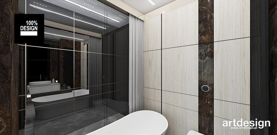 łazienka drewno projekty wnętrz