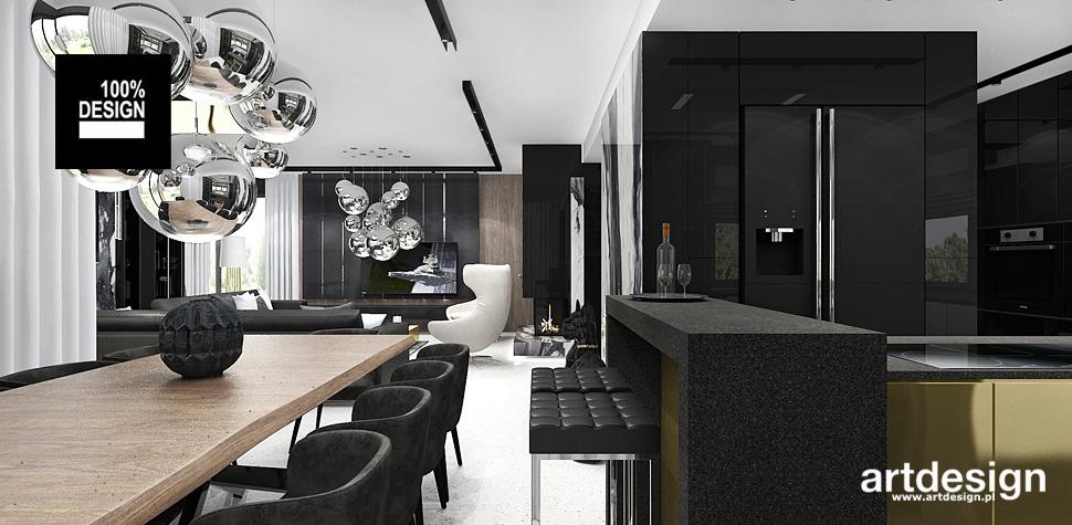 kuchnia nowoczesna w domu projekt