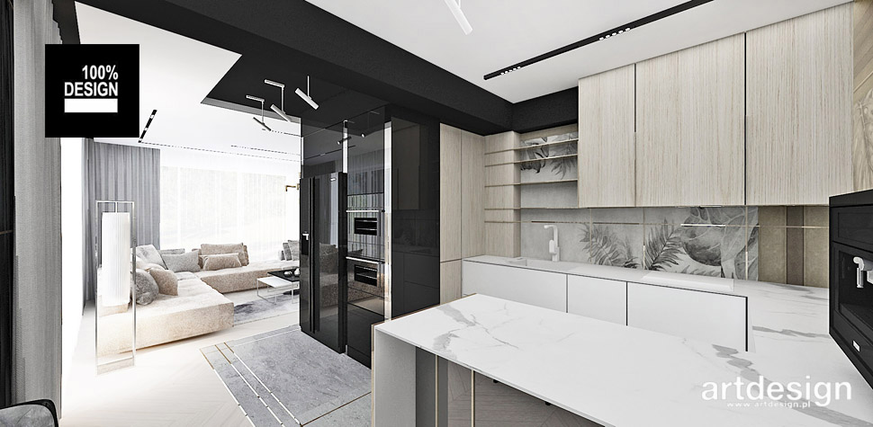 projekty kuchnia wnętrza