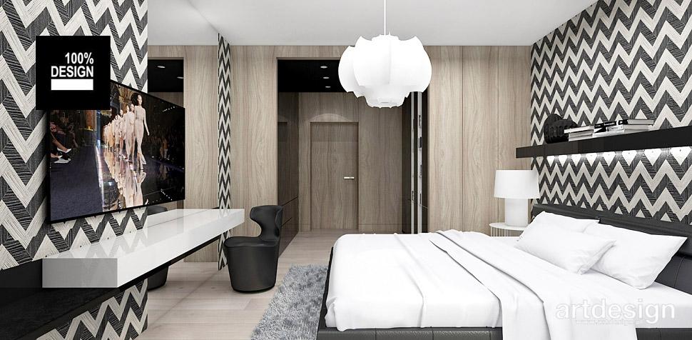 projektant wnętrz domu sypialnia