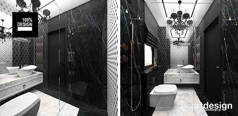 projekty wnętrz łazienka stylizowane wnętrza