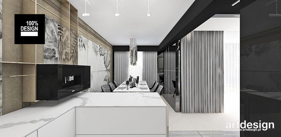 projekty apartamentów wnętrza