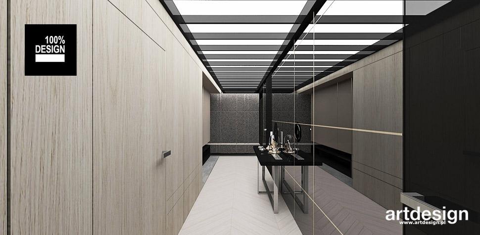 nowoczesny apartament projekt wnętrz