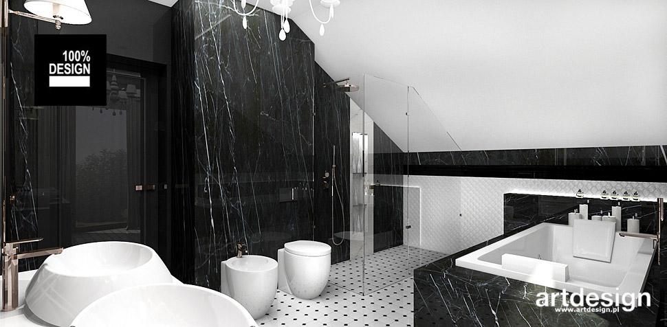 projekt wnętrza łazienek