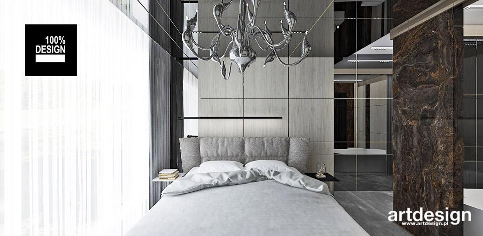 sypialnia w ciepłych kolorach wnętrza